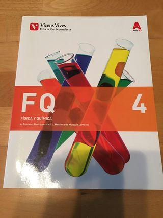 libro fisica y quimica 4 ESO vicens vives FQ
