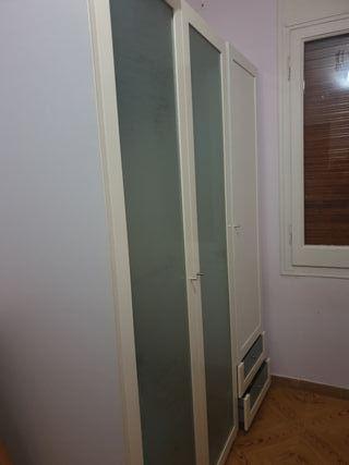 armario de dos módulos