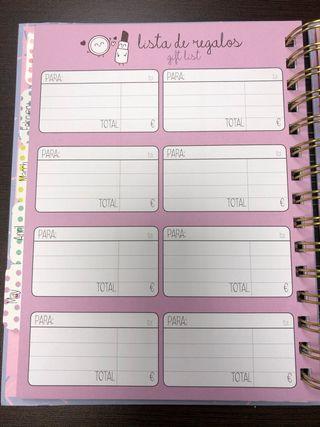 Libreta / Agenda