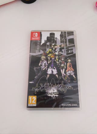 The World Ends With You SWITCH PRECINTADO