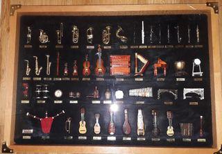 Instrumentos musicales en miniatura