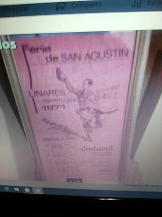 cartel toros de tela 1971