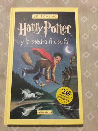LIBRO HARRY POTTER Y LA PIEDRA FILOSOFAL NUEVO