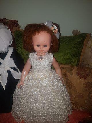 Antigua muñeca años 70 Rusa