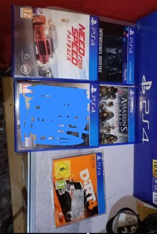 juegos play4 PS4