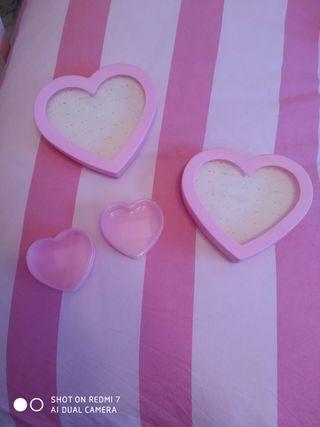caja corazon/joyero