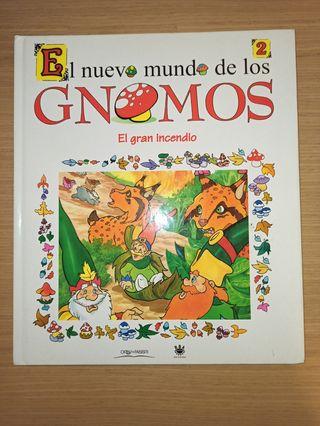 libro El nuevo mundo de los gnomos NUEVO