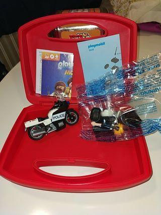 maletín Playmobil nuevo