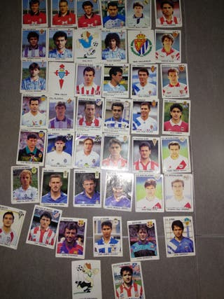 cromos de fútbol del año 1993/1994