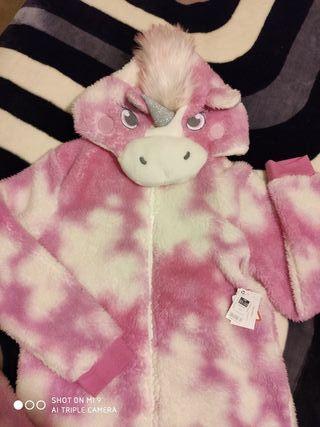 pijama mono de unicornio s