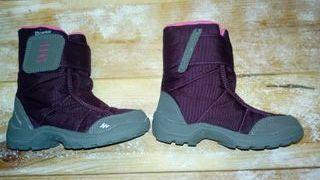 Botas Quechua waterproof número 27