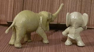 Muñecos PVC ELEFANTES
