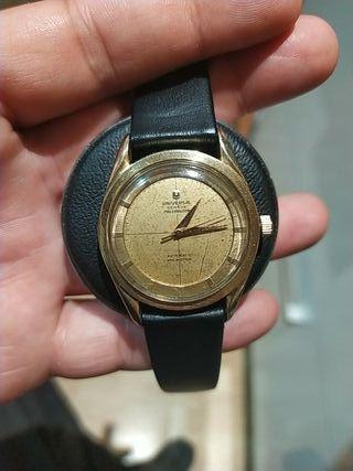 reloj universal geneve polerouter vintage antiguo