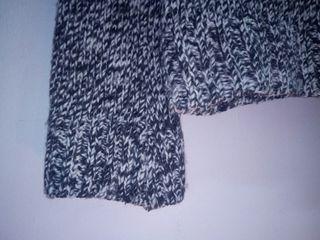 LANA jersey blanco y negro {precio negociable}