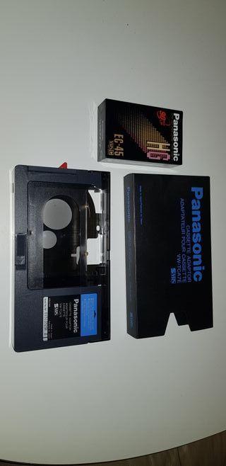 cassette adaptador vhs