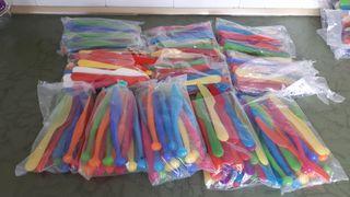 cuchillos de plástico para niños