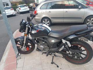moto keeway 125 cc con un año de garantía oficial