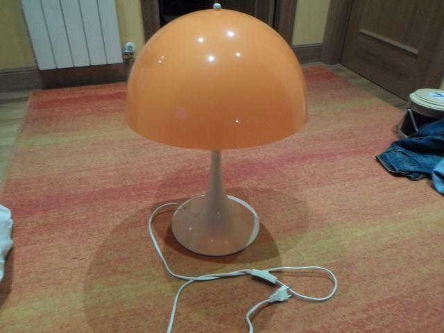 lampara mesa estilo retro vintage decoracion.