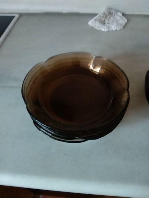 Vajilla de cristal Vintage