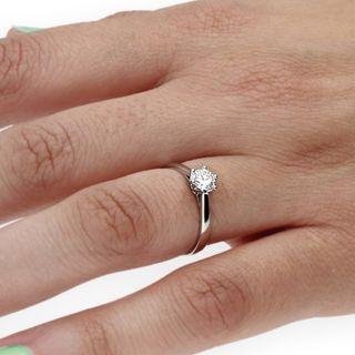 Solitario con Diamante 0,40 ct Certificado IGI