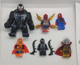 Figuras tipo lego Spiderman