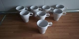 8 tazas desayuno