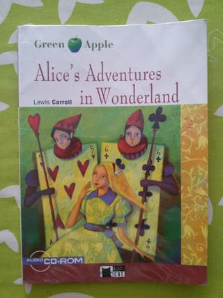 "Libro ""Alice's Adventures in Wonderland"""