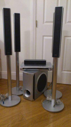 Sony Home Cinema torres de sonido
