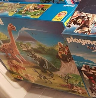 Caja vacía Playmobil 5014 Dinosaurios