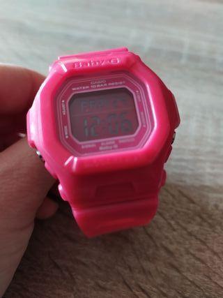 Reloj CASIO Baby-G Fucsia SIN USO