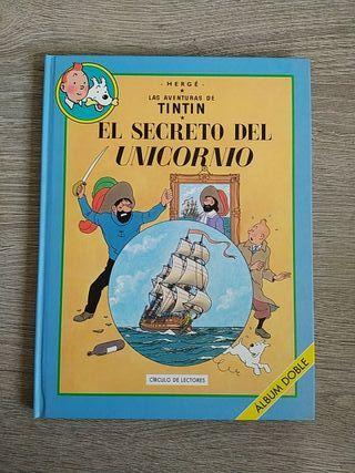 comics de Tintín de Verte (formato doble)