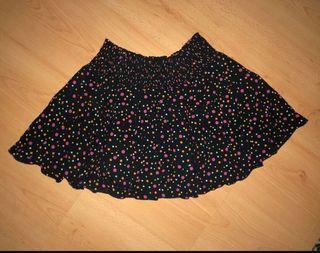 Falda lunares colores