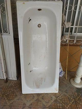 bañera usada