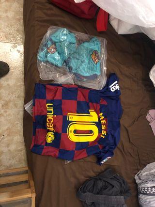 Equipación del Barça