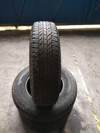 205 80 16 104T vendo neumáticos seminuevos al 90%