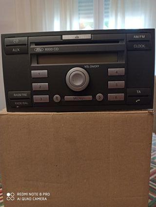 Radio CD (6000 CD) original para FORD FOCUS.