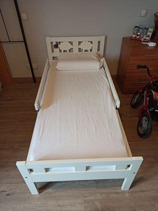 cama completa IKEA KRITTER