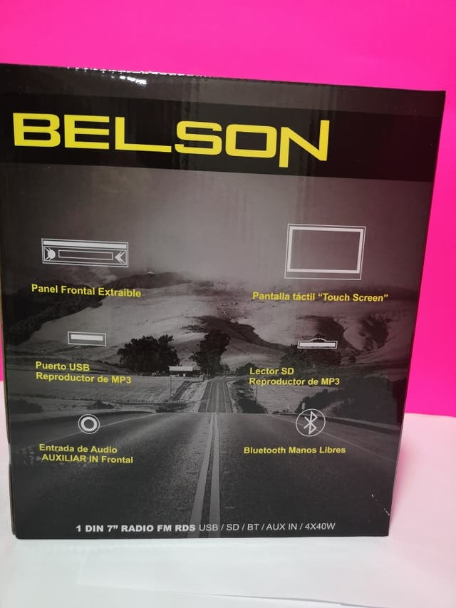 RADIO CD COCHE BELSON 2960W