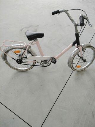 bicicleta de niña totalmente restaurada