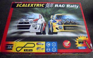 SCALEXTRIC RAC RALLY MONTECARLO 1999