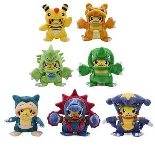 Peluche Pikachu Disfrazado Pokémon