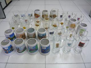 Colección 38 jarras cerveza