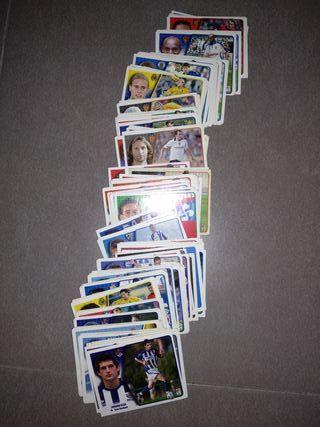 cromos de fútbol del 2005/2006