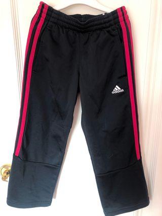 Pantalón deportivo Adidas niña talla 5-6 años