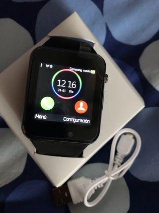 Smart Watch Phone color negro nuevo sin estrenar
