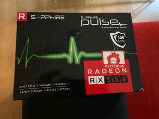 GPU Sapphire RX550