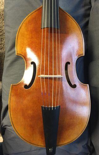 Viola da gamba bajo 6 cuerdas