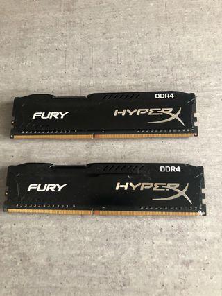 Memoria RAM Kingston HyperX Fury 16GB Rebajado!!