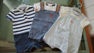 Conjuntos bebé de tres meses