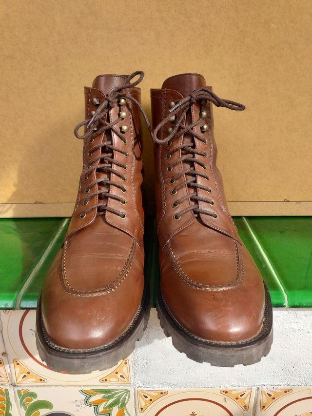 Zapatos abotinados de piel originales The Kooples